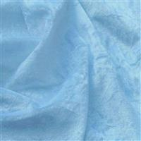 Baby Blue Crushed Velour 100% Polyester Fabric 0.5m