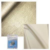 Light Gold PU Leather, Vanilla Cotton & Snap Bundle
