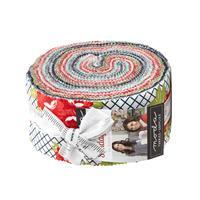 """Moda Sunday Stroll 10"""" Design Roll Pack of 40 Pieces"""