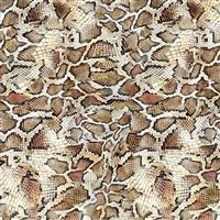 Animal Skins Snake Fabric 0.5m