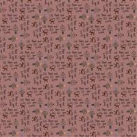 Lynette Anderson Peace & Joy Berries & Cream Fabric 0.5m