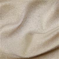 Nude Cotton Lurex Jersey Fabric 0.5m