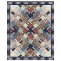 William Morris Tartan Quilt Kit 132 x 161cm