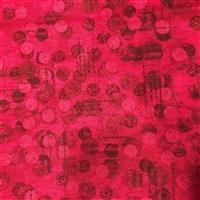 Dots Red Extra Wide Backing Fabric (274cm Width) Bundle (2.5m)
