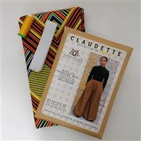 Dovetailed Claudette Trousers Sewing Kit Fashionably Late on Orange