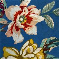 Marlene Smoke Blue Viscose Fabric 0.5m