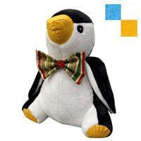 Delphine Brooks Sky Penguin Toy Kit: Instructions, Fleece (1m) & FQ (2pcs)