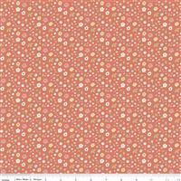 Riley Blake Joy In The Journey in Coral Petal Fabric 0.5m