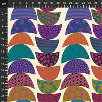 Anna Maria Horner Bright Eyes in Stacked Lunch Fabric 0.5m