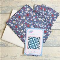 Living in Loveliness Floral Pin Wheel Quilt Kit