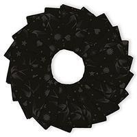 "Tula Pink Linework Dark 5"" 42 Piece Charm Pack"
