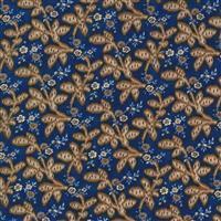 Moda Ladies Legacy in Blue Leaf Stem Fabric 0.5m