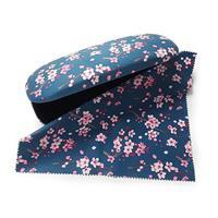Oriental Blossom Glasses Case & Lens Cloth