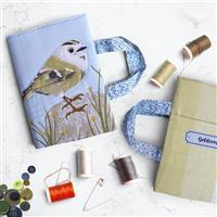 September Bird of the Month Goldcrest Book Cover Set: Instructions & Panel (140 x 42cm)