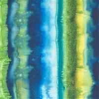 Moda Starflower Christmas Green Spill Fabric 0.5m