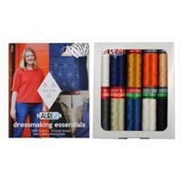 Aurifil Dressmaking Essentials by Jenni Smith Pack Of 10 Small Spools