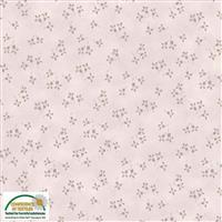 Stof Quilters Co-Ordinates Stone Flowers Fabric 0.5m