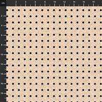 Henry Glass Man Cave Pegboard Fabric 0.5m