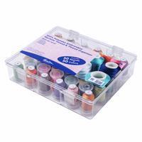 50 Thread Box & Storage Organiser with Polyester Machine Embroidery Thread