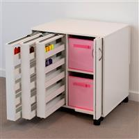 Horn Modular Pull Out Thread Cabinet White