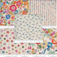 Moda Lulu Cream Fabric Bundle (2.5m)