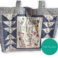 Sew with Beth Rather Be Sewing Tote Bag Multi Coloured