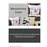 Delphine Brooks Coastal Monochrome Instructions