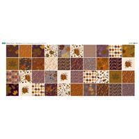Harvest Large Hexies Fabric Panel (140 x 60cm)