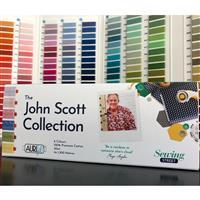 Aurifil Thread Selection Pack. The John Scott Collection 50wt 6 Large Spools (7800m Total) Signed