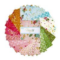 """Riley Blake Stardust 5"""" Charm Pack of 42 Pieces"""