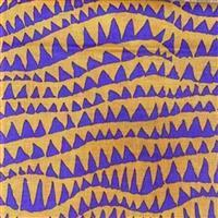 Kaffe Fassett Collective Shark Teeth in Carnival Fabric 0.5m