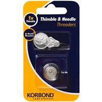 Thimble & Needle Threader Set