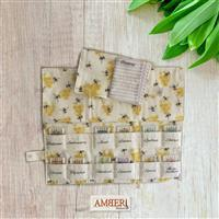 Amber Makes Busy Bee The Needlecase Collection Kit - Instructions & Panel