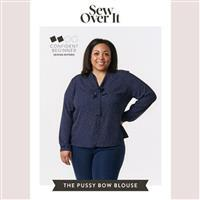Sew Over It Pussy Bow Blouse Sewing Paper Pattern- - Size 6-20