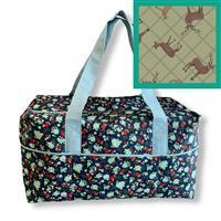 Highland Stags Travel Bag Kit: Instructions & Fabric (2m)