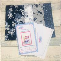 Fabulously Fast Fat Quarter Fun; Issue 14 - Sew Ready For Gardening Riley Blake Blue
