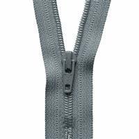 Grey Nylon Dress & Skirt Zip 51cm