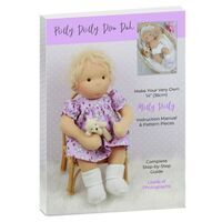 Molly Dolly Instruction Manual & Pattern Pieces with Free Bonnet & Booties Knitting Pattern PDF