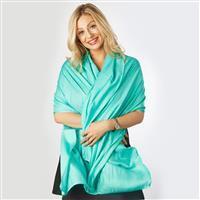 Aloe Vera Scarf - Turquoise