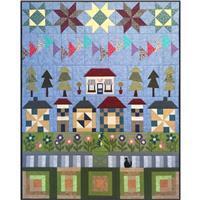 Village Fabrics Village Street - Complete Quilt all 7 Rows