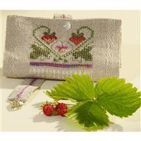 Cross Stitch Guild Strawberry Needlesafe Kit