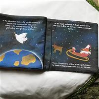 The Night Before Christmas Soft Book Kit: Fabric Panel & Wadding