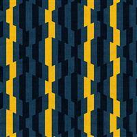 Rita Distorted Stripes Charcoal Fabric 0.5m