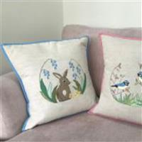 Victoria Carrington Rabbit Applique Cushion Instructions