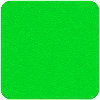 """Felt Square in Super Bright Green 22.8x22.8cm (9x9"""")"""
