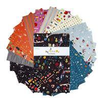 """Riley Blake Tiny Treaters 10"""" Charm Pack of 42 Pieces"""
