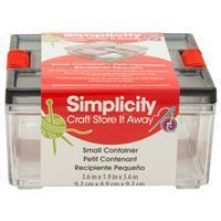 Simplicity Small Storage Container. 9.2cm x 4.9cm x 9.2cm