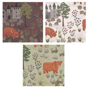 Lewis & Irene Loch Lewis Highland Scenes Fabric Bundle (1.5m)