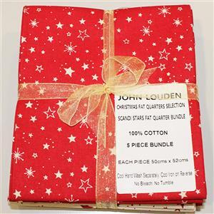Early Bird Special - Assorted Christmas Fat Quarter Pack of 5. Special Price
