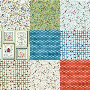 Wildflower Farm Mega Bundle: Fabric Panel & Fabric (4m)